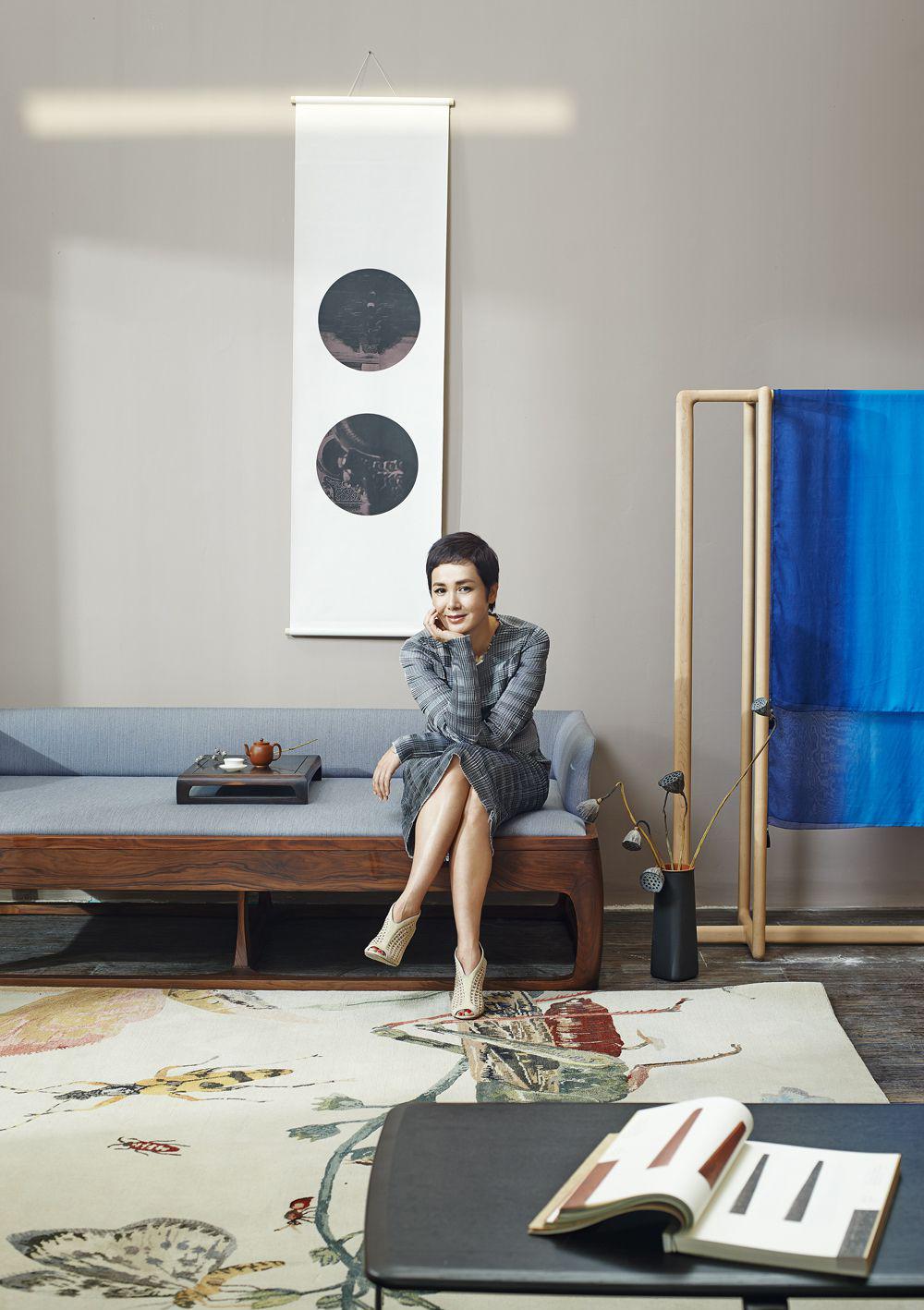 设计师刘峰为蒋雯丽打造的新中式素美空间