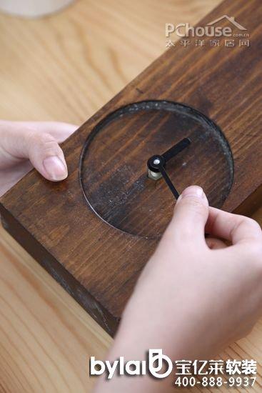 原木的diy生活 温暖木质家饰巧手做