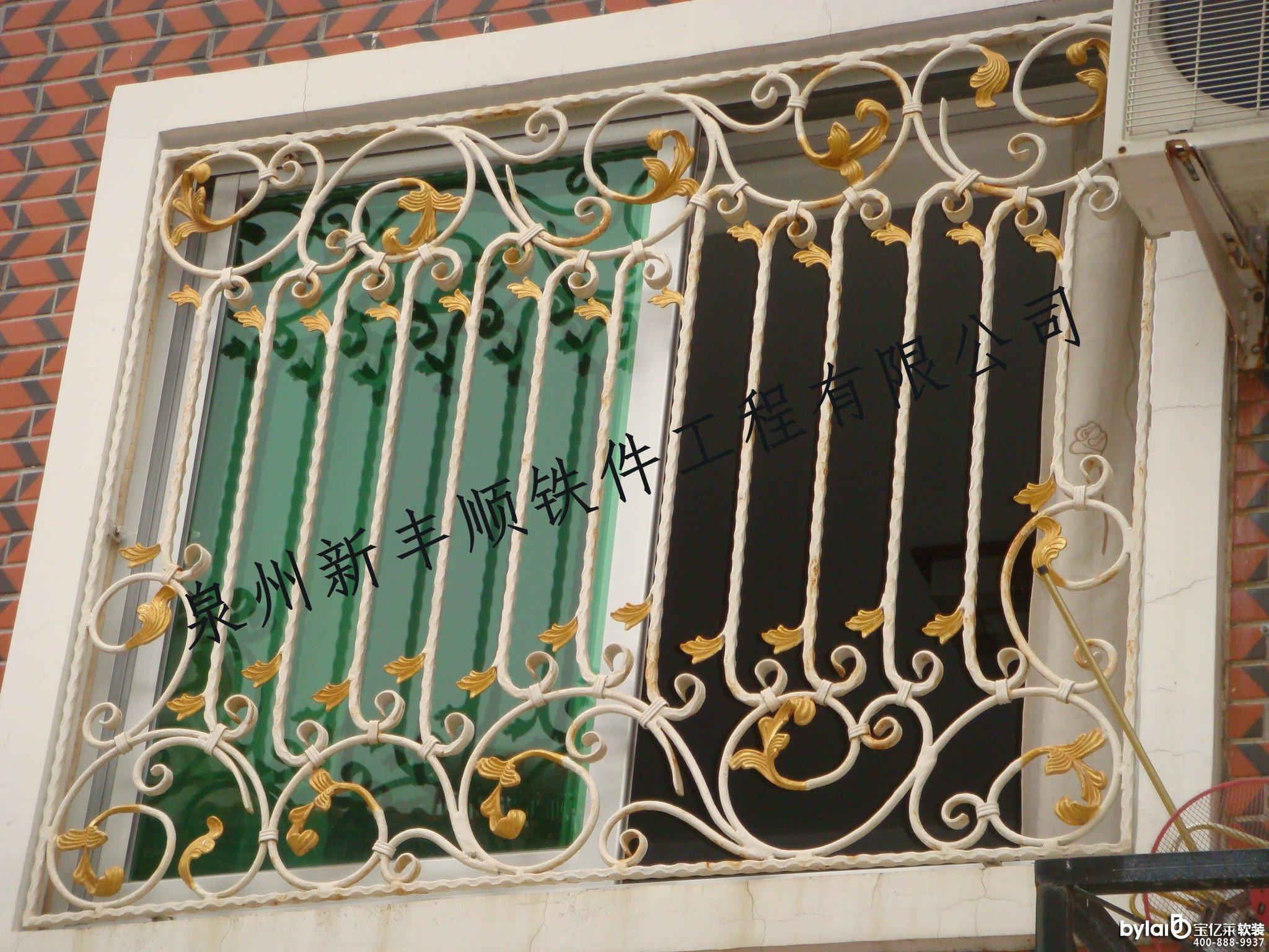 欧式窗户护栏图片