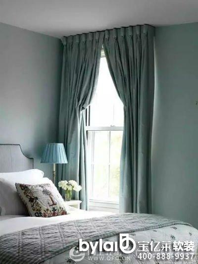 2015新款流行现代客厅窗帘效果图