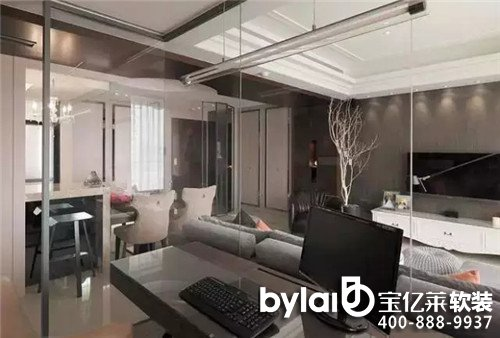 宝亿莱125平祖孙三代大户型欧式风格三居室装修